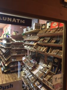 this pic is taken inside of the humidor at Cigar Bundles of Miami