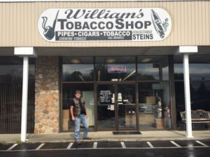 Pic of me standing outside of Williams Tobacco in Cleveland Tn.