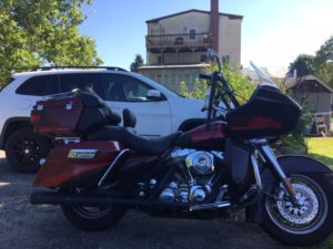 Pic of the bike behind Gilbertsville Cigars