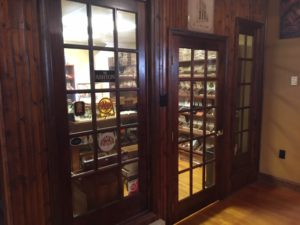 Pic looking into the big humidor