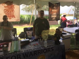 pic of Rick Neas from Cigars for Warriors at Barn Smoker