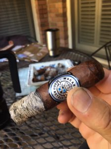 Pic of a Macanudo Cru Royal on Doug's Porch