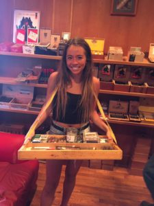 Pic of the Cigar girl Delane or Alexis