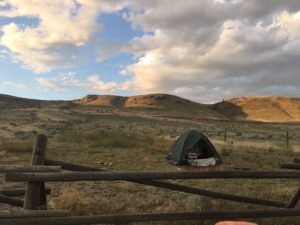 Pic of my camp at Homestake pass