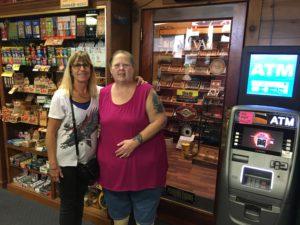 pic of Deb and Tina at the counter