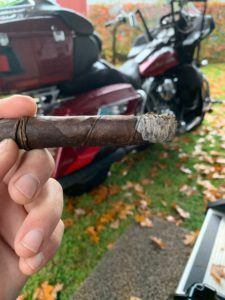 another Pic of a CAO Orellana with my bike behind it and Dave's garage