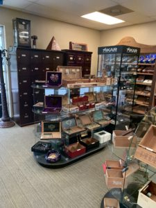 pic inside the humidor