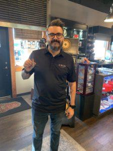pic of Sam Ventura of Crux Cigars