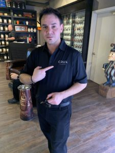 Pic of Ed, one of the worker bee's