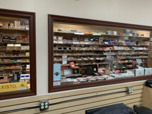 pic looking in the humidor