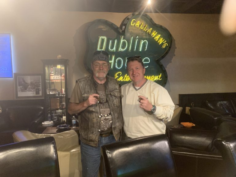 Pic of Shennen and me at the Dublin House