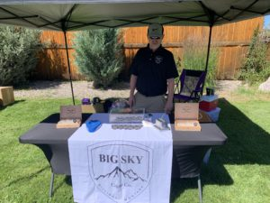 Pic of Adam Bucy of Big Sky Cigars