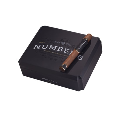 Pic of a box of Rocky Patel Number 6