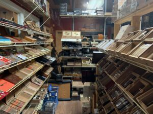 Pic inside one of the humidors