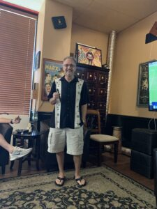Pic of Stephen the owner of Humidor