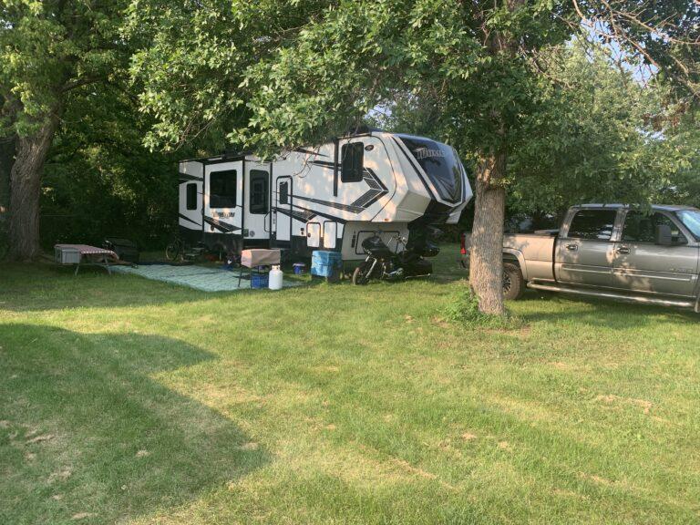 pic of the trailer in South Dakota